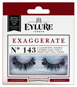 EYLURE Eyelashes Fake 143 Exaggerate - Make-up / make-up Up