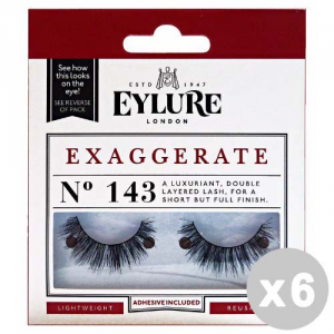 EYLURE Set 6 EYLURE Ciglia finte 143 exaggerate - trucco/make up
