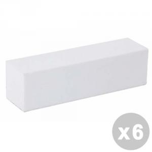 ESTROSA Set 6 ESTROSA Lima buffer bianco 2406029 - manicure/pedicure