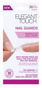 ELEGANT TOUCH Unghie adesivi proteggi unghie pre-unghie finte