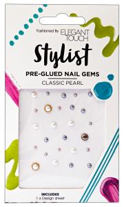 ELEGANT TOUCH Unghie nail art gemme pre-collate perle - manicure/pedicure