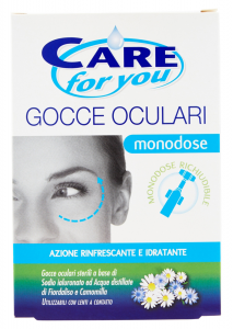 CARE FOR YOU Occhi Gocce Oculari Monodose 10 Pezzi