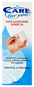 CARE FOR YOU soluz.unica lenti a contatto 100 ml. - Medicazioni e disinfettanti