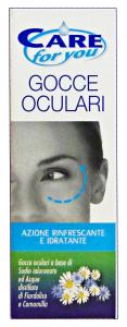 CARE FOR YOU gocce oculari 10 ml. - Medicazioni e disinfettanti