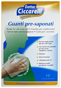 DR. CICCARELLI Guanti pre-saponati monouso X10 pz. - Medicazioni e disinfettanti
