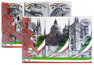 CLEAN Fazzoletti italy * 6 pz. - fazzoletti di carta