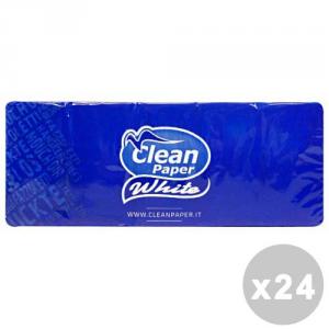 CLEAN Set 24 CLEAN Fazzoletti * 10 pz. - fazzoletti di carta