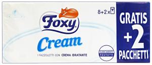 FOXY Fazzoletti cream * 10 pz. - fazzoletti di carta