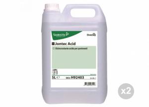 Set 2 DIVERSEY Jontec acid disincrostante per superfice calcare kg. 6 Detergenti per la casa