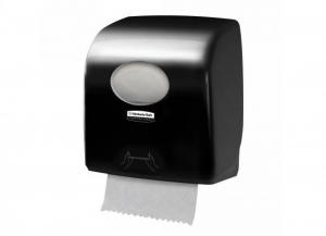 KIMBERLY-CLARK Distributore aquarius asciugamani chiuso nero slim 1 pezzo Bagno: accessori e tessuti