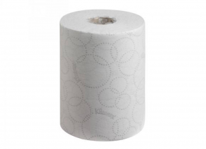 6 pezzi KIMBERLY-CLARK Asciugamani rotolo chiuso kleenex ultra slim 2 v. Bagno: accessori e tessuti