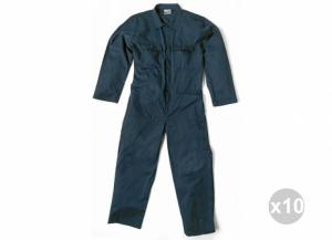 Set 10 SIGGI Maître Massaua sanfor salopette bleue 100% coton tg. 44 Vêtements de travail pour hommes