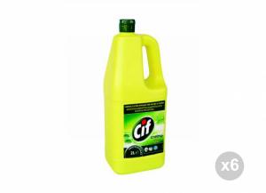 Set 6 DIVERSEY Cif crema limone lt. 2 Detergenti per la casa