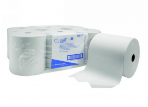 6 Pieces KIMBERLY-CLARK Towels Roll Airflex White 304 1 Veil Bathroom Accessories And Fabrics