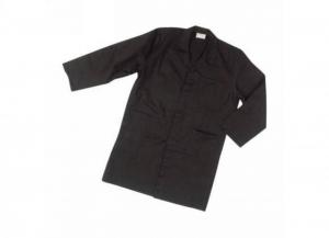 SIGGI Coat Record Black Polyester / cotton gr 130 Tg. 50 1 Piece Clothing Work Man