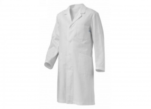 SIGGI Coat Record White Polyester / cotton gr 130 Tg. 52 1 Piece Clothing Work Man