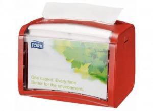 ESSITY Distributore tovaglioli tavolo rosso tork xpressnap 1 pezzo Cura del corpo