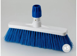 Set 5 ARISTON Broom Floors Blue Cm 35 'Hygiene' Detergents For the House