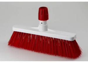 ARISTON Broom Floors Red Cm 35 'Hygiene' 1 Piece Cleaning And Care of the house