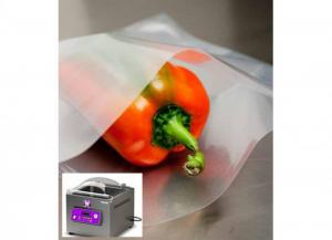 100 pezzi BESSER VACUUM Buste per sottovuoto lisce a/90 per alimenti 30x40 Soluzioni salvaspazio