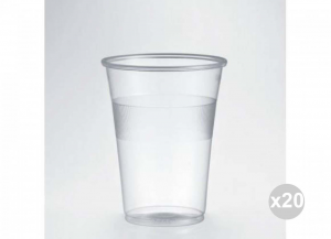 Set 20x50 (1000 Pieces Total ISAP Glasses Transparent P 350 Lt 0.3 Kitchen Crockery And Accessories
