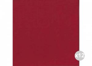 Set 12x60 (720 pz totali) DUNI Tovaglioli soft 40x40 bordeaux Cucina: stoviglie e accessori