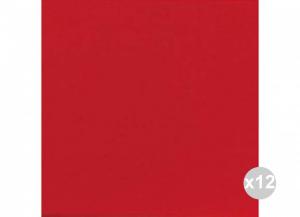 Set 12x60 (720 pz totali) DUNI Tovaglioli soft 40x40 rosso Cucina: stoviglie e accessori