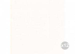 Set 12x60 (720 pz totali) DUNI Tovaglioli soft 40x40 bianco Cucina: stoviglie e accessori