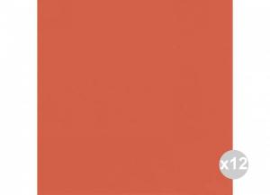 Set 12x60 (720 pz totali) DUNI Tovaglioli soft 40x40 mandarino Casa e cucina