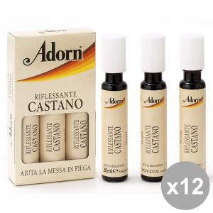 ADORN Set 12 Ampoules Brun X 3 Pièces Produits Pour les cheveux