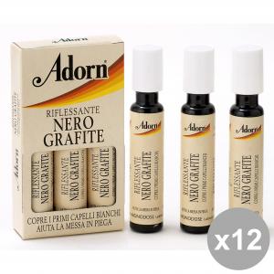 ADORN Set  12  Fiale Grafite X 3 Pezzi  Prodotti Per Capelli