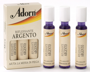 ADORN Ampoules Argent X 3 Pièces - Ampoules Pour les cheveux