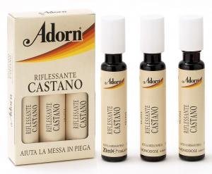 ADORN Ampoules Brun X 3 Pièces - Ampoules Pour les cheveux