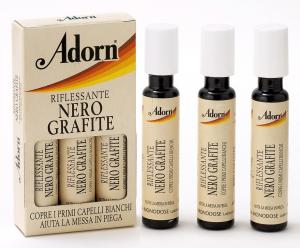 ADORN Fiale Grafite X 3 Pezzi  - Fiale Per Capelli