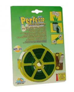 Draht Metallgrün 30 Mt Artikel 0366 - Produkt Für Pflanzen
