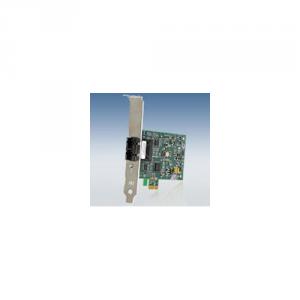 ALLIED TELESIS Scheda Di Rete Pc Card 100Mbps Pci-Express Fiber Adattatore Card Sc Connect Informatica