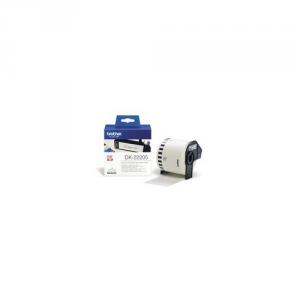 BROTHER Consumabile Stampante Nastro Adesivo Nero Bianco 62Mm Informatica