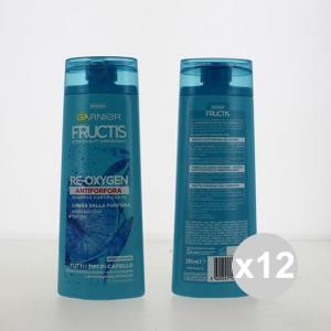 Set 12 FRUCTIS Shampoo 250 Antiforfora Re-Oxygen Shampoo E Balsamo in vendita online