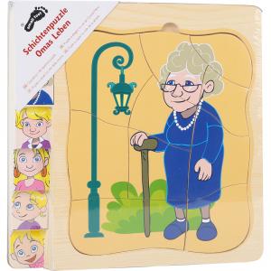 Puzzle a strati - La vita della nonna