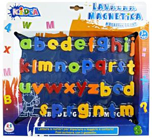 GLOBO Lavagna magnetica con lettere - giocattoli