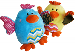 GLOBO Game Peluche Chick 18 cm 833567 - Toys