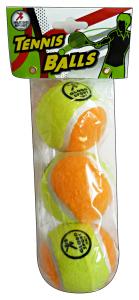 GLOBO Gioco palle tennis soft X 3 pz. 368373 - Giocattoli