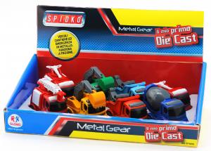 GIOCOGLO158 GLOBO Macchinine Pompieri/Cantiere Die Cast 1Pz.37162 Giochi Per Bambini