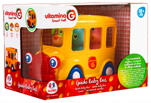 GLOBO Baby School bus Movement Mystery 05156 Game For Children