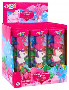 GLOBO Game Animals Mini Pony 38127 Peluche 3 Pieces