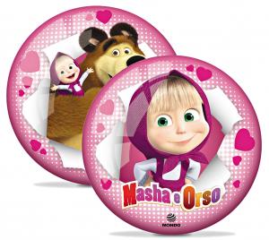 Pallone 23 Cm Masha E Orso Cod.06577 Giochi Per Bambini