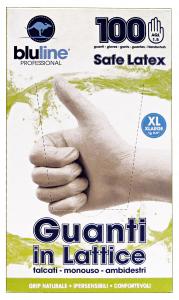 Guanti * 100 Lattice BLULINE XL Giardinaggio