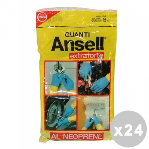 ANSELL Set 24 ANSELL Guantes Extraforti Tamaño XL - Guantes