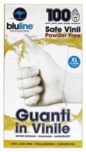 BLULINE Guanti X 100 Vinile Taglia XL Giardinaggio