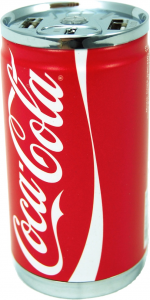 COCA COLA Co-Pwcanl-104C 10400Mah 2Usb Lattina Accessori Smartphonhe